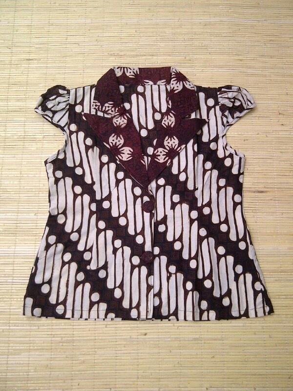 H6 batik blouse