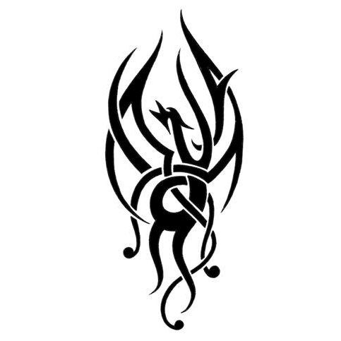 Phoenix #tattoo idea  Another idea. Also means new beginnings/rebirth. Maybe for upper arm or lower left leg?
