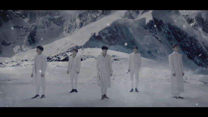 SHINee Winter Wonderland - SM Entertainment Rilis Video Musik Nuansa Musim Dingin