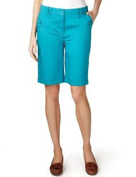 The Styling Up stylists recommend: Marks & Spencer Per Una Cotton Rich Flat Front Shorts