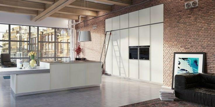 Bucătărie modernă minimalist de Del Tongo