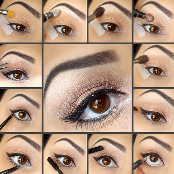 Bridal Eye Makeup 2018 Step By Step : Step by step eye makeup Makeup Tutorials and Tips ...