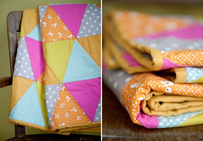 Idea for after the wedding: use your bunting to make a quilt to remember the special day!