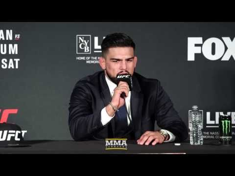 MMA UFC on FOX 25: Kelvin Gastelum Post-Fight Press Conference - MMA Fighting