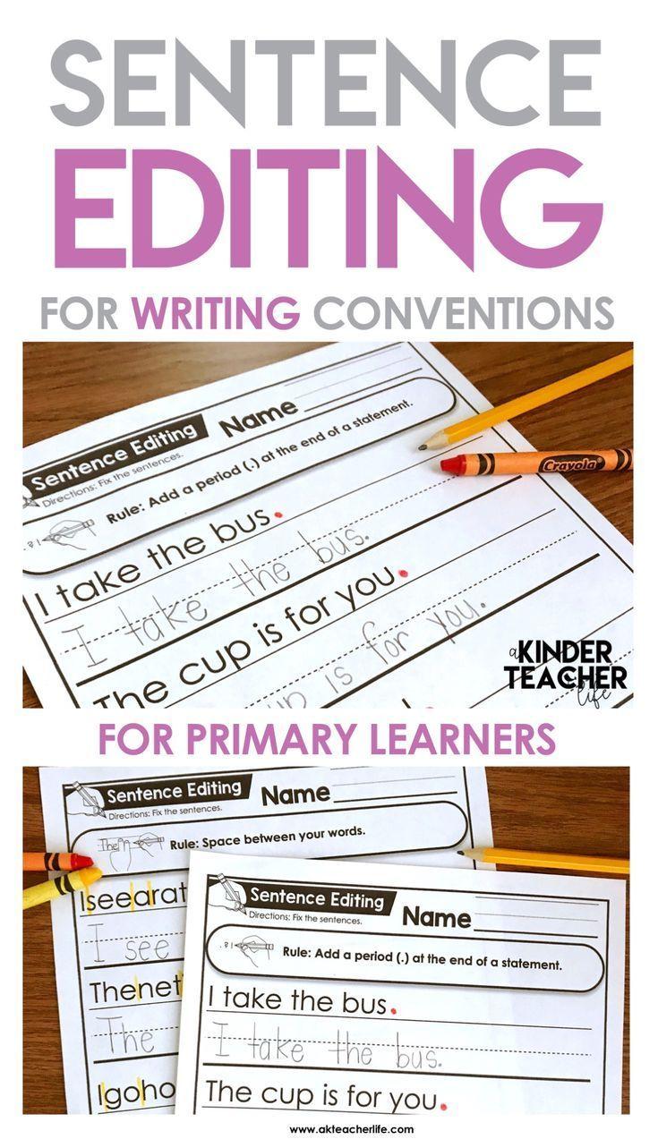Editing Sentences Writing Conventions Sentence Editing Homeschool Writing [ 1273 x 735 Pixel ]