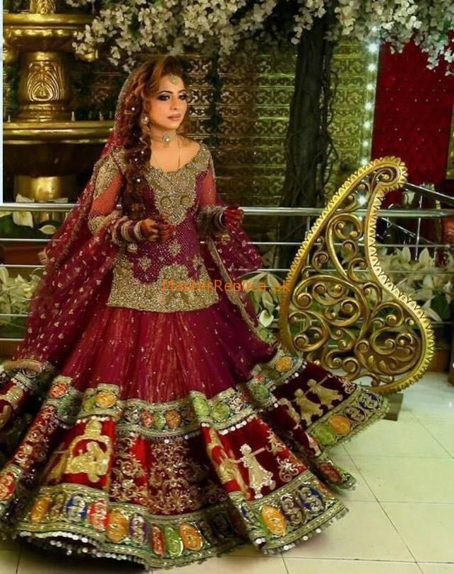 Kashee S Net Master Replica 2019 In 2020 Bridal Dress Design Indian Bridal Dress Pakistani Bridal Makeup