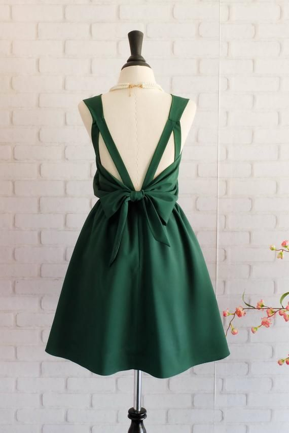 1b65a867b Forest green dress Green Bridesmaid dress Wedding Prom dress ...