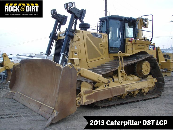 """Our Featured Dozer is a 2013 #Caterpillar D8T LGP, 38"""" Pads, Semi-U, Ripper, 5,664 Hrs. We have a great selection of Dozers that are begging to be put to the test! You can view them all at: http://www.rockanddirt.com/equipment-for-sale/dozers-crawler-tractors #Dozers #RockandDirt #HeavyEquipment"""