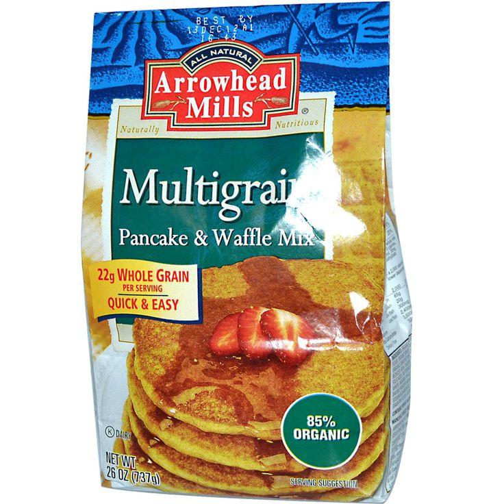 Arrowhead Mills, Multigrain Pancake & Waffle Mix, 26 oz (737 g) - iHerb.com