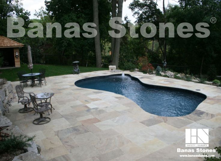 Banas Fossil Pool Coping Available at our store at 3500 Mavis Rd, Mississauga, ON L5C 1T8
