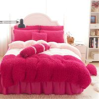 Winter warm flannel bed sheet coral fleece thickening Set 6 pieces (King, queen) https://app.alibaba.com/dynamiclink?touchId=60440633833