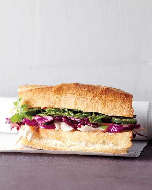 Asian Chicken Sandwich   Recipe