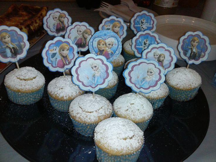 Cupcake alla vaniglia (ricetta gz) ripieni di crema alla gianduia