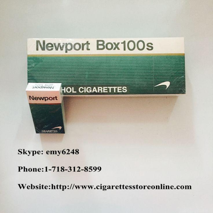 Newport 100s Cigarette
