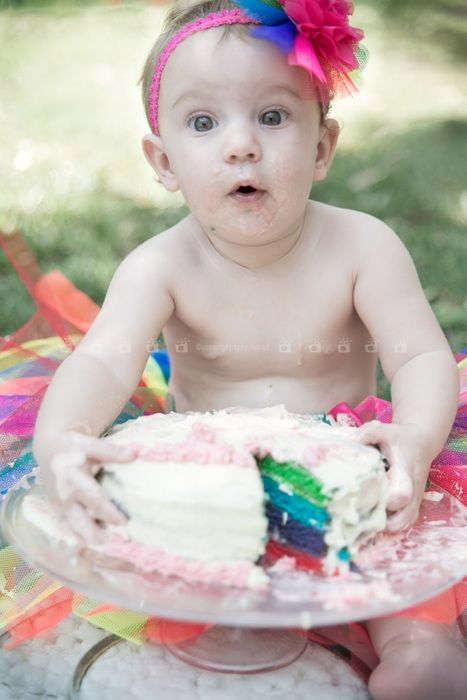 Baby smash cake - Capture your baby's smash cake either on location or in your home - photographs to last a lifetime