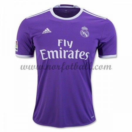 Billige Fotballdrakter Real Madrid 2016-17 Borte Draktsett Kortermet