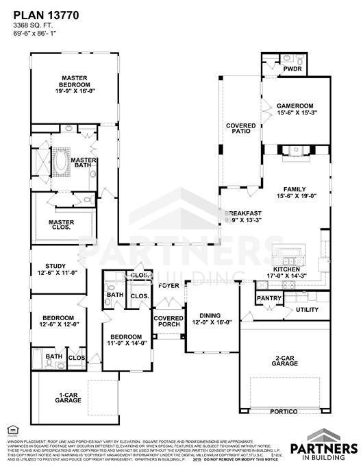 25 best partners in building images on pinterest house floor plans plan 13770 is a 3368 sqe ft 3 bedroom plan built and designed by partners in building custom home builder in texas malvernweather Gallery