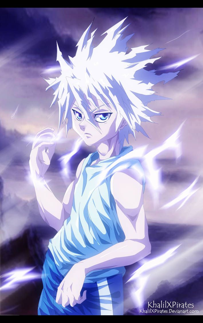 Killua Zoldyck By Https Www Deviantart Com Khalilxpirates On Deviantart Hunter Anime Hunterxhunter Killua Killua