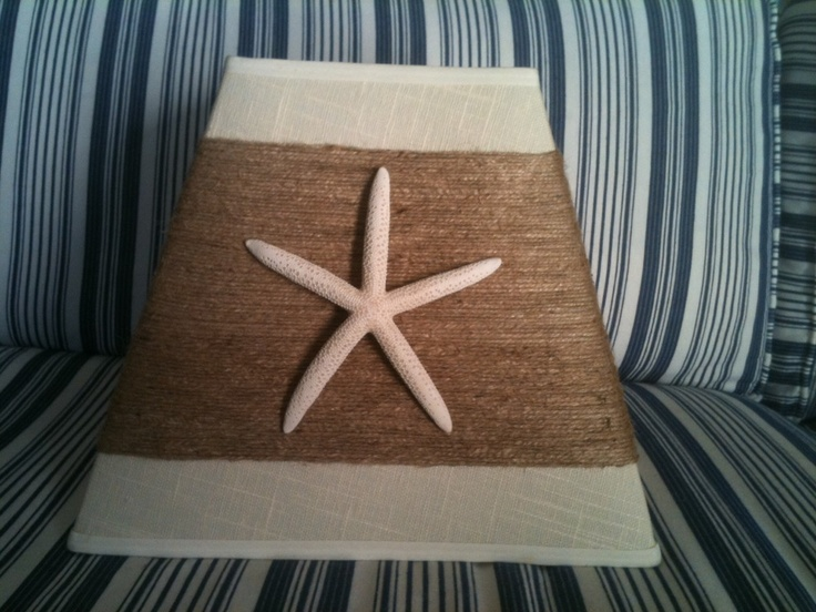 19 best lampshades images on pinterest lamp shades lampshades beachy starfish lampshade coastal cool 10000 via etsy aloadofball Gallery
