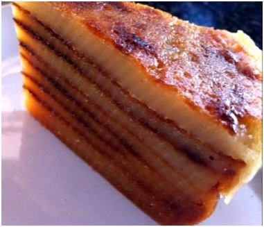 The quintessential Goan dessert Bebinca is named after its inventor – a Goan nun named Bebiana... pinned with @PinvolveLove