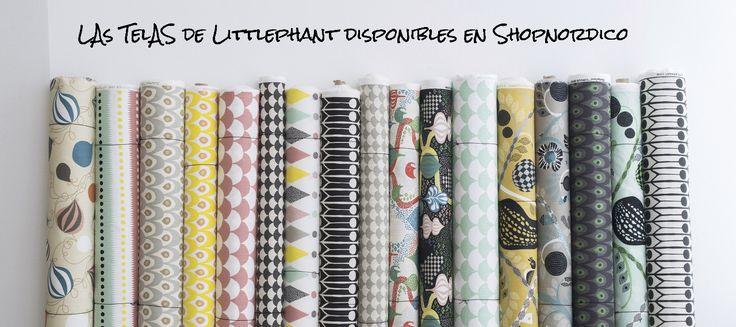 Telas de Littlephant en Shopnordico