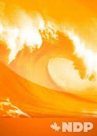 NDP Orange Wave