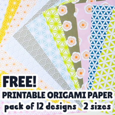 Free Printable Origami Papers