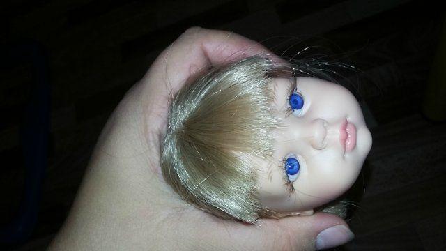 Мастер-класс как из раздвоенной чёлки у кукол Паола Рейна сделать ровную / Мастер-классы, творческая мастерская: уроки, схемы, выкройки кукол, своими руками / Бэйбики. Куклы фото. Одежда для кукол