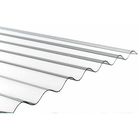 Ariel Corolux Corrugated PVC Roofing Sheet, Translucent 3