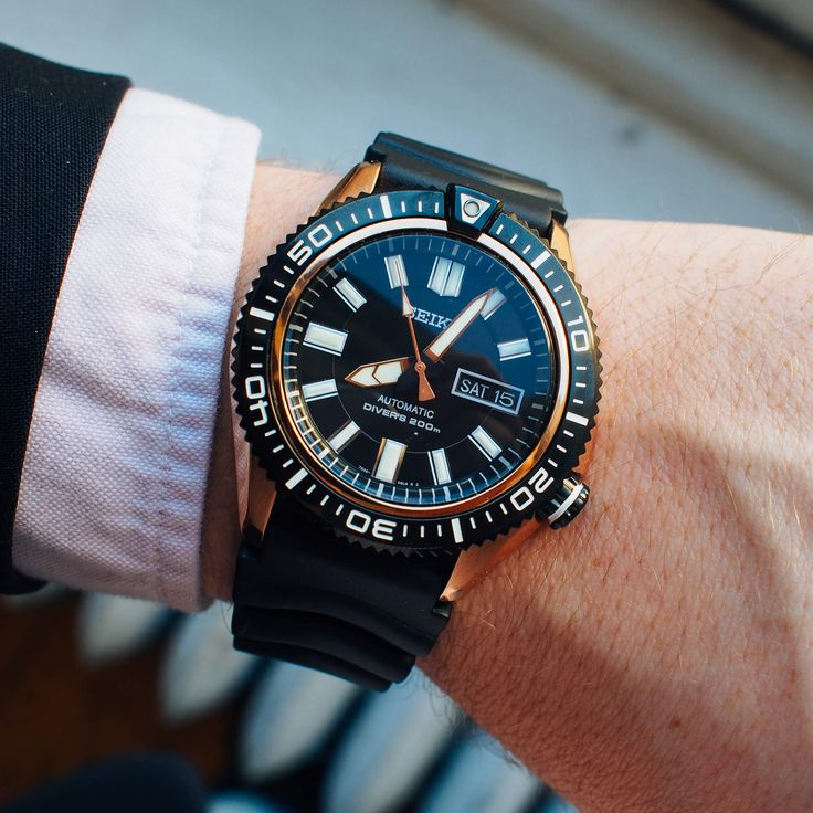 Seiko SKZ330. It's a little aggressive, but that's not necessarily a bad thing to have in a watch