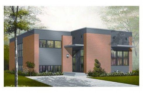 Plano de casa de ladrillo visto planos arquitectura for Casa moderna ladrillo