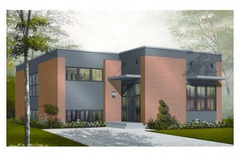 Plano de casa de ladrillo visto planos arquitectura for Casas modernas ladrillo