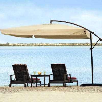 The Square Offset Patio Umbrella Protects You From Harmful UV Rays. This  Shade Umbrella Is Ideal With A Variety Of Patio Furniture.