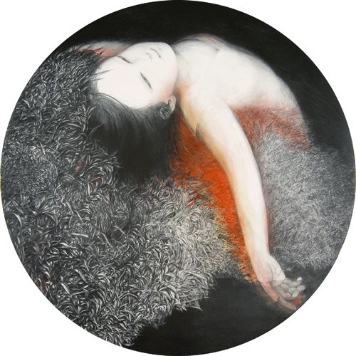 "Kondoh Akino | extra scene05 from""Ladybirds' Requiem"" | http://akinokondoh.com/picture.html"