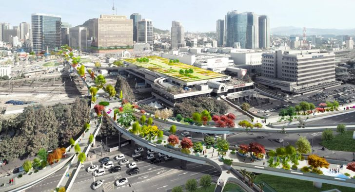 Concept : recycler une autoroute en jardin suspendu : utopique ou... - Influencia