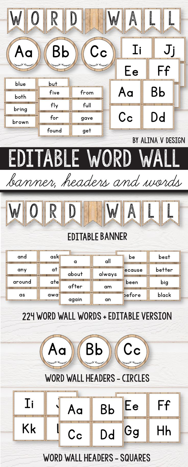 Word Wall Letters Unique Best 25 Word Wall Headers Ideas On Pinterest  Word Wall Letters Review