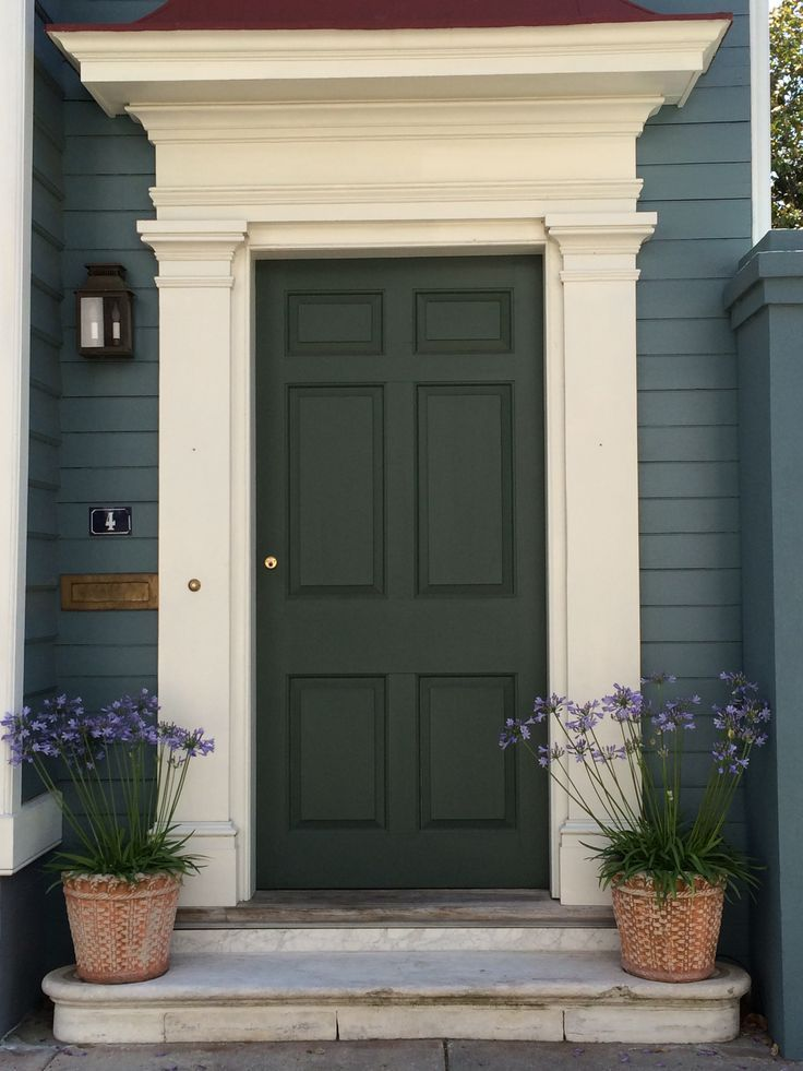 Beautiful Door In Charleston We Are Want To Say Thanks If You Like To Share This Post To Another Peo Exterior Door Trim Exterior Front Doors Front Door Molding