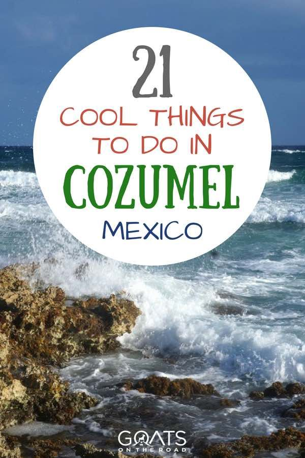 21 Things To Do In Cozumel Mexico S Top Island Mexico Travel