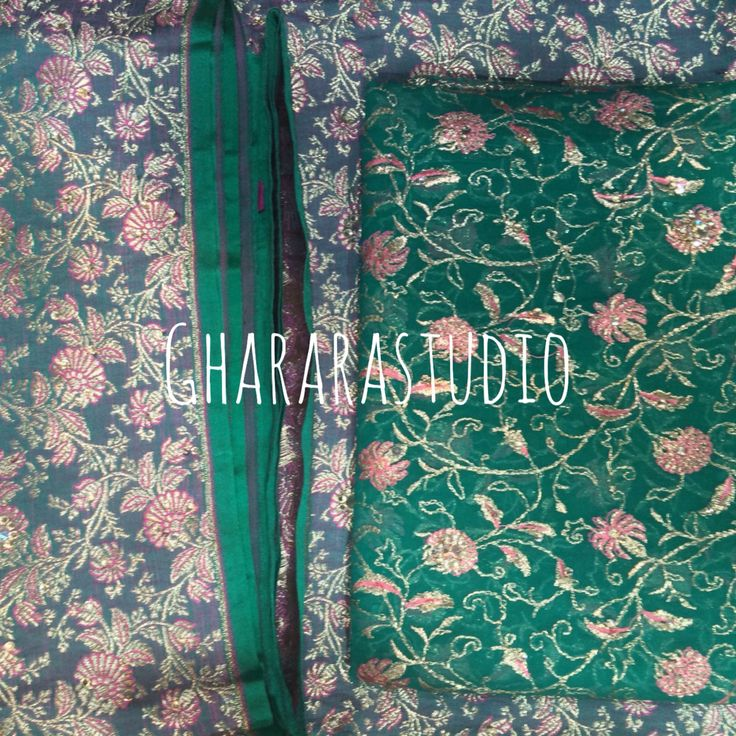 Get the beautiful designs in pure kamkhwab with zari and Reshma jaal dupatta.  Complete stitched Gharara  Deliver worldwide  TO ORDER/ENQUIRY: ☎️/Whatsapp 9971865919  ghararastudio@gmail.com  ✉️ Inbox in Facebook  Provide your email id  #GhararaStudio  #GhararaStudio  #gharara #ghararah #gharara4u #kamkhawab #pure #zari #resham #jaal #embroidery #jaaldaardupatta #indianbride #indiafashion #indianwedding #wedding #weddingdress #allthingsbridal #allthingswedding #instapic #instalife #insta