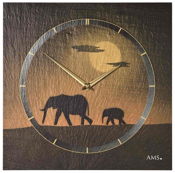 AMS Wandklok Leisteen met Airbrush 9523. Een klok waarvan de wijzerplaat van leisteen is gemaakt. De klok is mooi afgewerkt met airbrush. De klok is 30 cm in het vierkant en is 4 cm dik. Het quartz uurwerk functioneert op een batterij. U kunt kiezen uit meerdere uitvoeringen van deze klok. Ieder met een ander model wijzerplaat van leisteen. https://www.timefortrends.nl/wekkers-klokken/ams-klokken.html