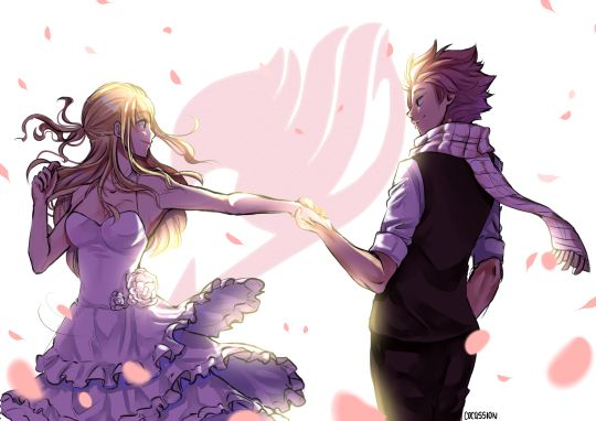 Fairy Tail - Natsu x Lucy