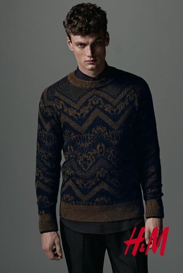 Max Bender for H&M's F/W 2013 Men's Lookbook l Photo by Kacper Kasprzyk l Styling by Hannes Hetta #mensfashion