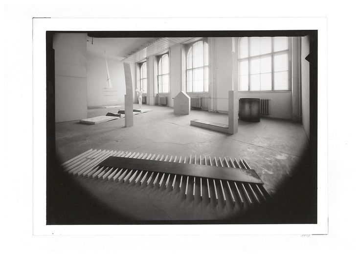 Jan Stolín, Installation, Academy of Arts, Architecture and Design in Prague, 1992