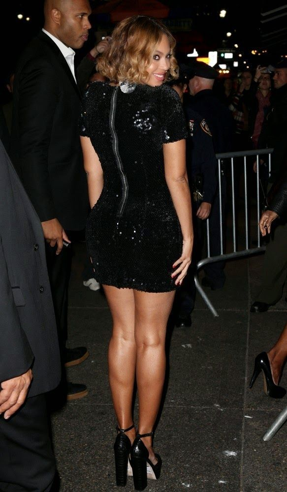 Beyonce - Topshop Topman New York