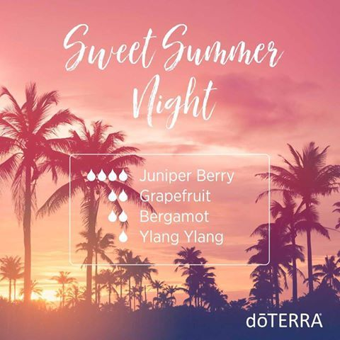 Sweeten up your afternoon with this delightful summer diffuser blend!   Juniper Berry has a calming and grounding effect, Grapefruit uplifts mood, Bergamot has a calming and soothing aroma, and Ylang Ylang lifts mood while also having a calming effect.