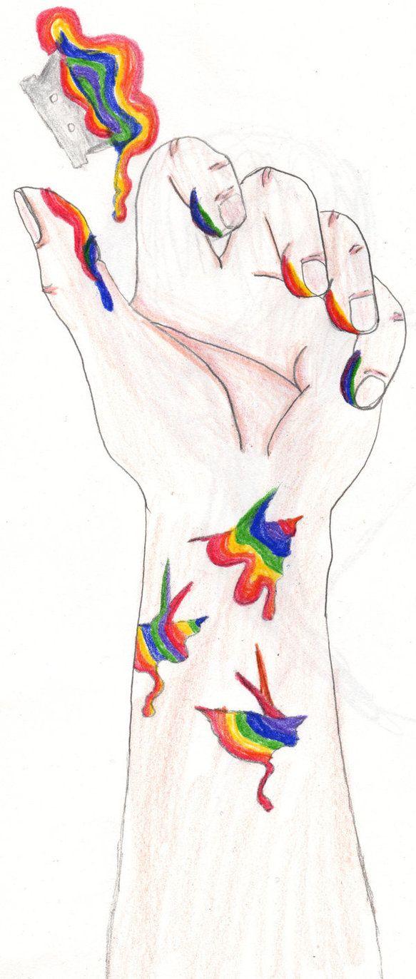 Inspirational Self Harm Sketches Www Topsimages Com