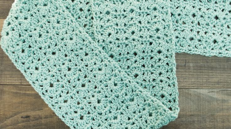 Crochet Stitches Left Handed : How to Crochet a Shell Stitch Scarf Left-Handed Tutorial ...