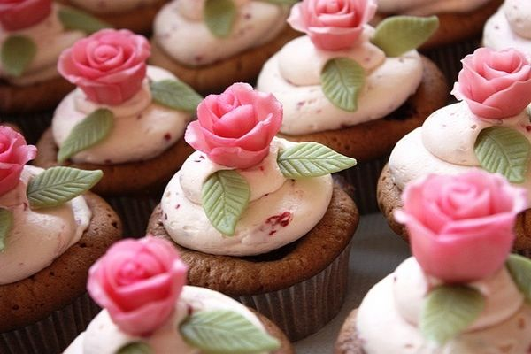 Raspberry + rose = heaven!