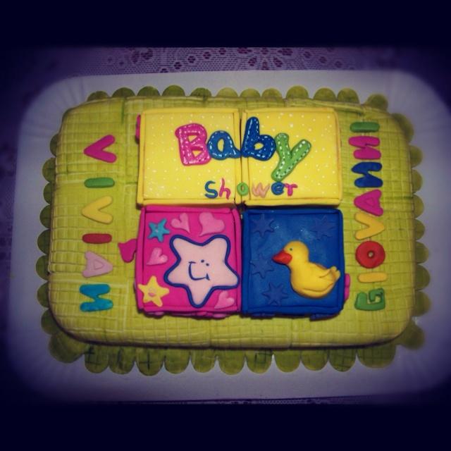 Baby Shower #cake #torta por @acuariana7
