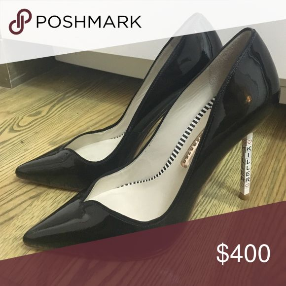 Sophia Webster killer heels 39 New no box, only tried on some wear on bottoms 39 fits small best is women's 8 Sophia Webster Shoes Heels